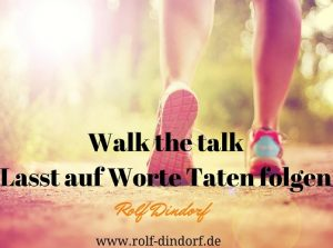 Walk the talk Verwaltungskultur